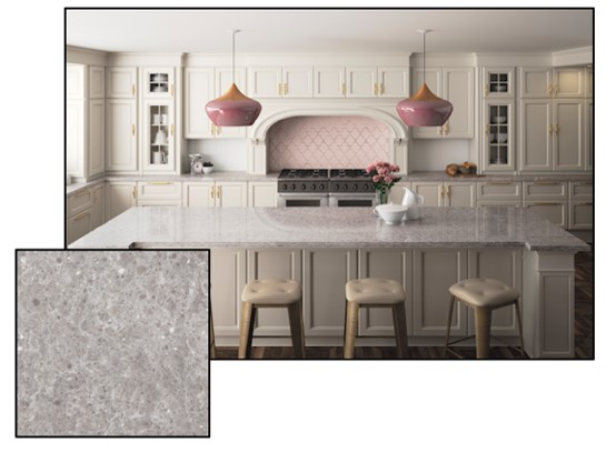 Silestone Also Launched Their New Smooth Motion Collection Presenting Three Colours Kimbler Mist Royal Reef And Pietra These Colour Options
