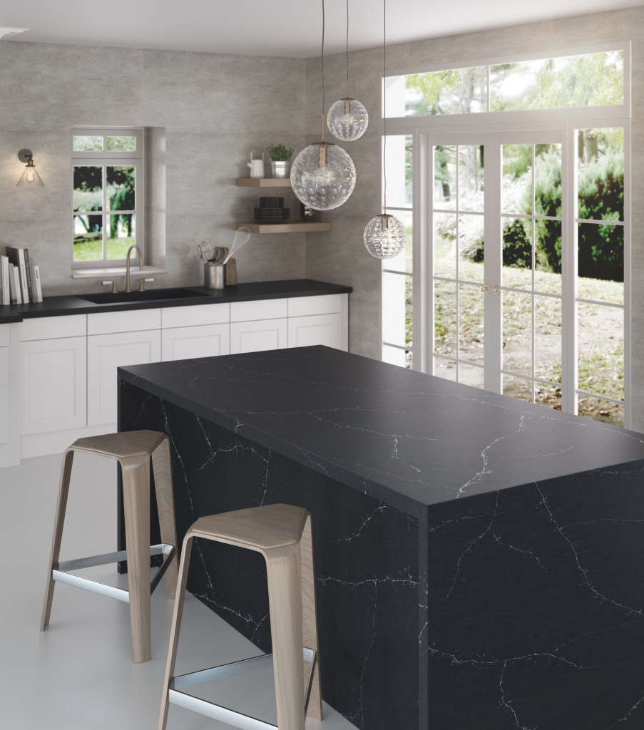 Silestone Kitchen Eternal Charcoal | Cosentino