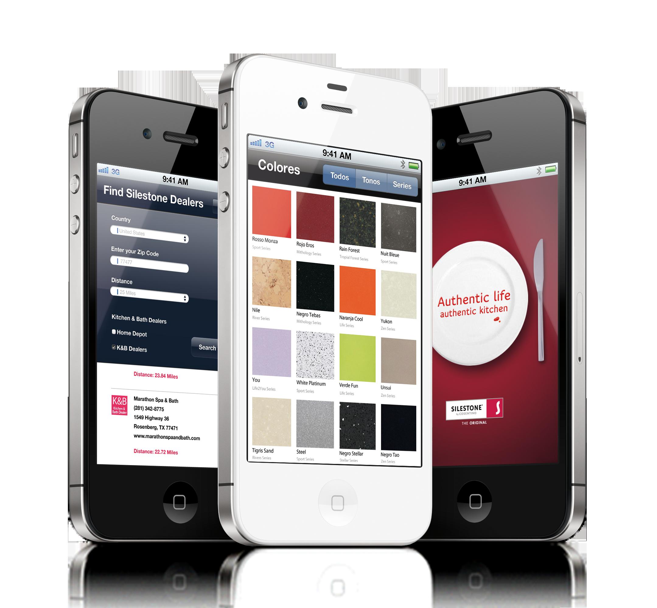 Silestone® Estrena Aplicación Para IPad Y IPhone