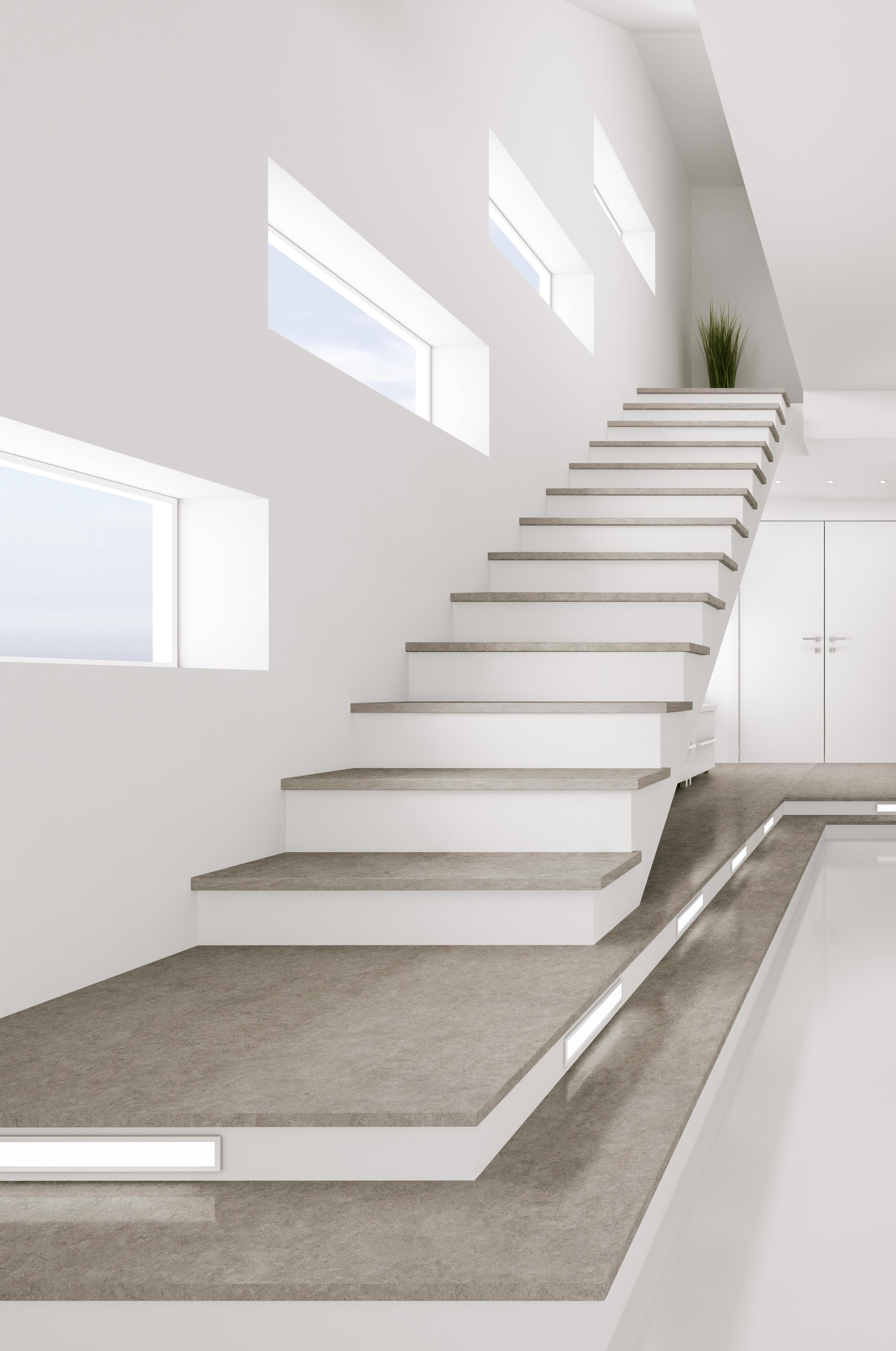 L\'escalier, pièce maîtresse de l\'intérieur | Cosentino Belgium French
