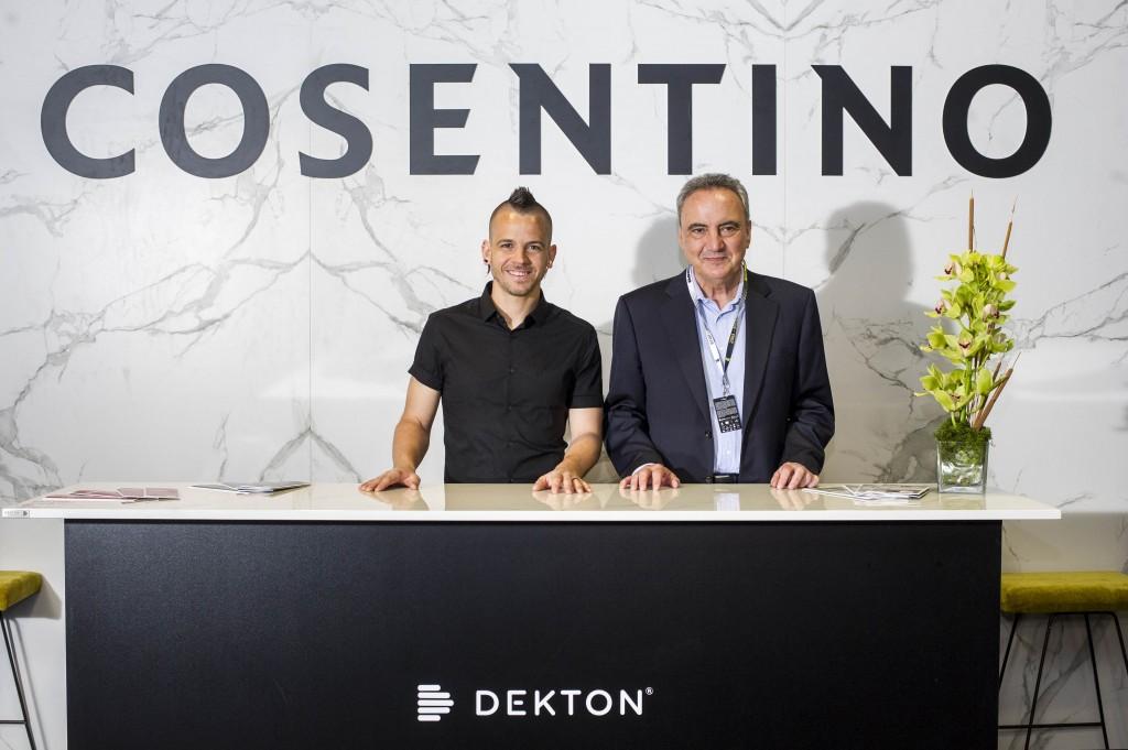 Image of david munoz francisco cosentino1 in Dekton® fait ses débuts à l'Open de Madrid en bonne compagnie! - Cosentino