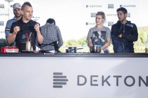 Image of showcooking 3 1024x6811 in Dekton® fait ses débuts à l'Open de Madrid en bonne compagnie! - Cosentino