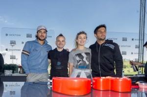 Image of showcooking tenistas davidmunoz 1024x681 in Dekton® fait ses débuts à l'Open de Madrid en bonne compagnie! - Cosentino