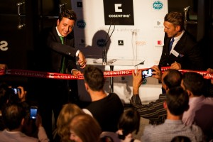 Cosentino City Center Sydney: Opening durch E. Martinez und G. Isherwood