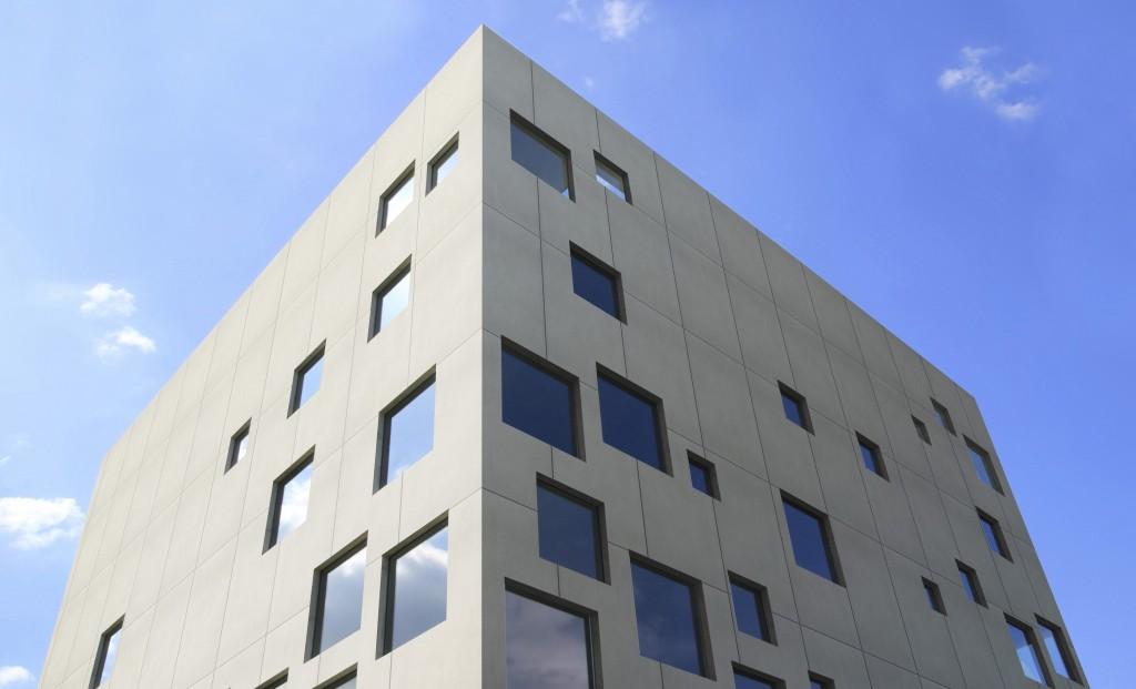 "Die Dekton-Farbe ""Strato"" als Fassadenmaterial"