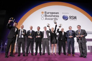 "Cosentino-Gewinnerfoto bei den ""European Business Awards"""