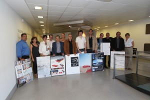 Die Gewinner und Juroren der Cosentino Design Challenge 2013