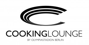 Logo der Cooking Lounge im Berliner Olympiastadion