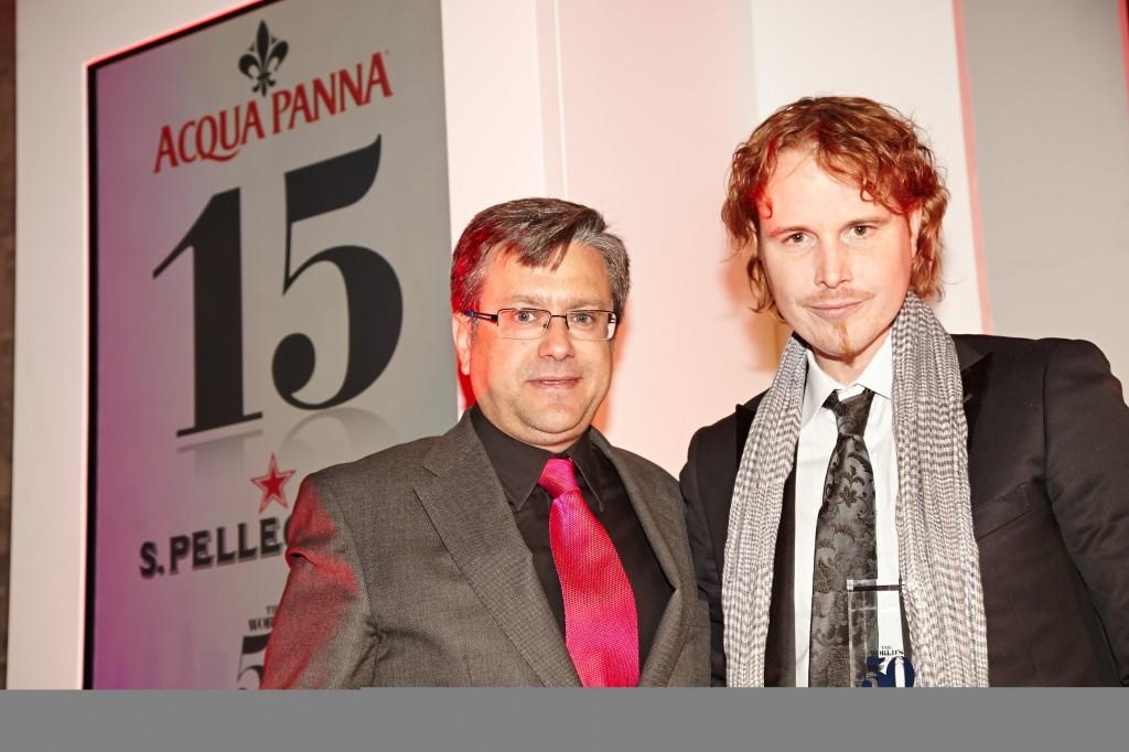 Santiago Alfonso und Grant Achatz