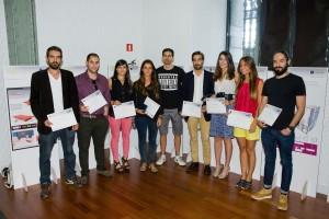 Die glücklichen Gewinner der Cosentino Design Challenge 2013