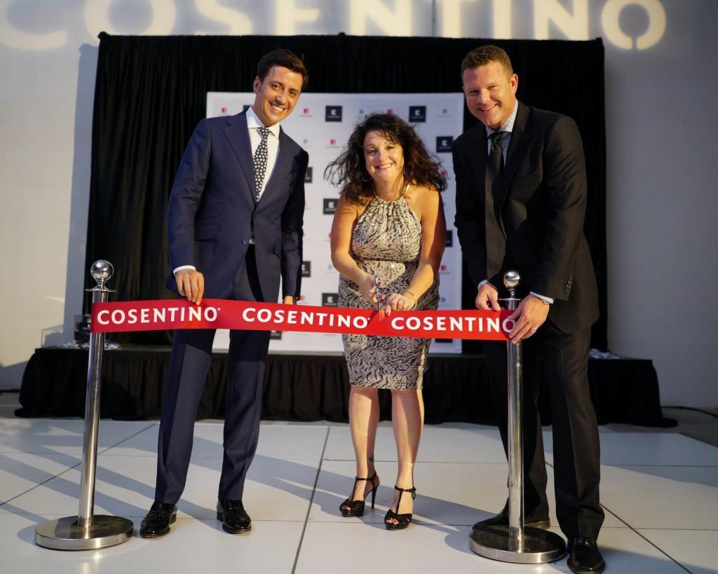 Feierliche Eröffnung des Cosentino Centers in New Orleans