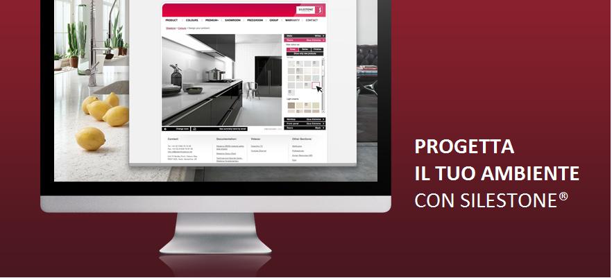 Cosentino italia progetta la tua cucina e il tuo bagno for Progetta la tua planimetria online