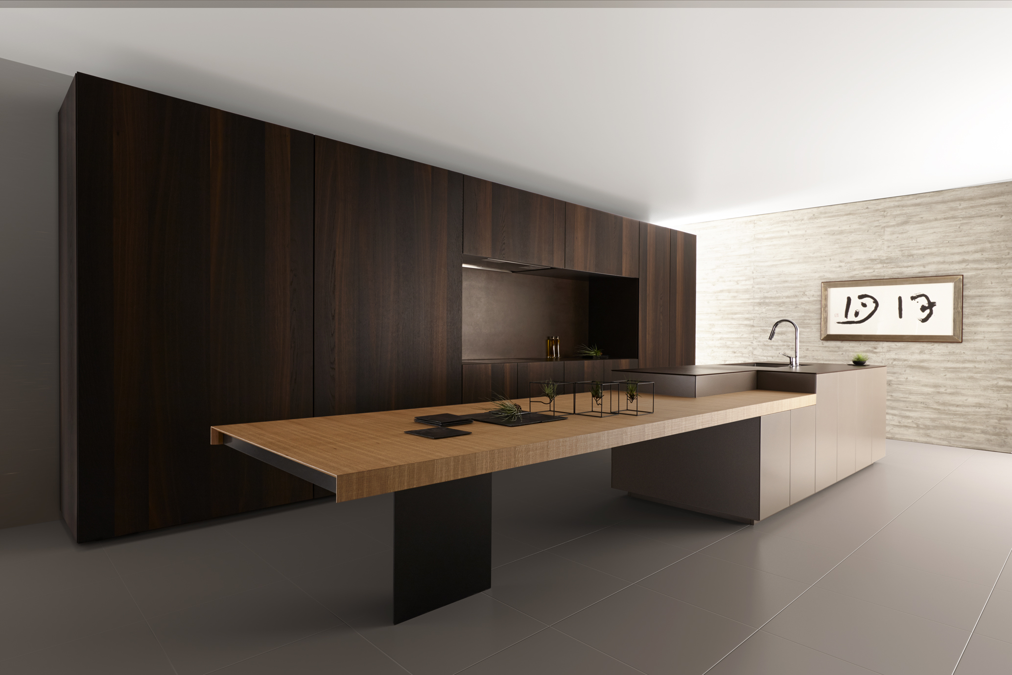 cosentino nederland japans minimalisme in de keuken met dekton. Black Bedroom Furniture Sets. Home Design Ideas
