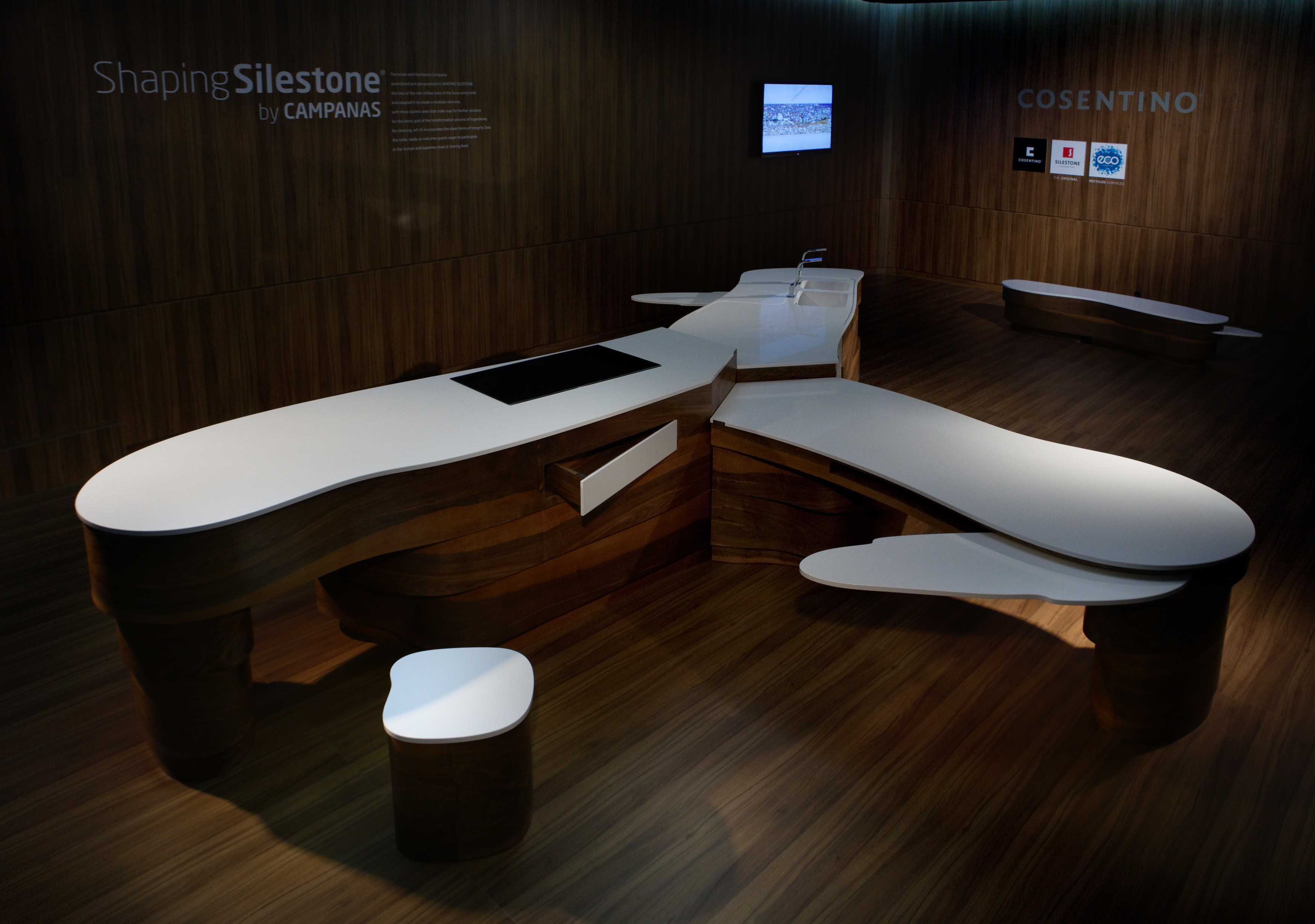 Introducing SHAPING SILESTONE® An Innovative Furniture Project By The  Campana Brothers For Cosentino