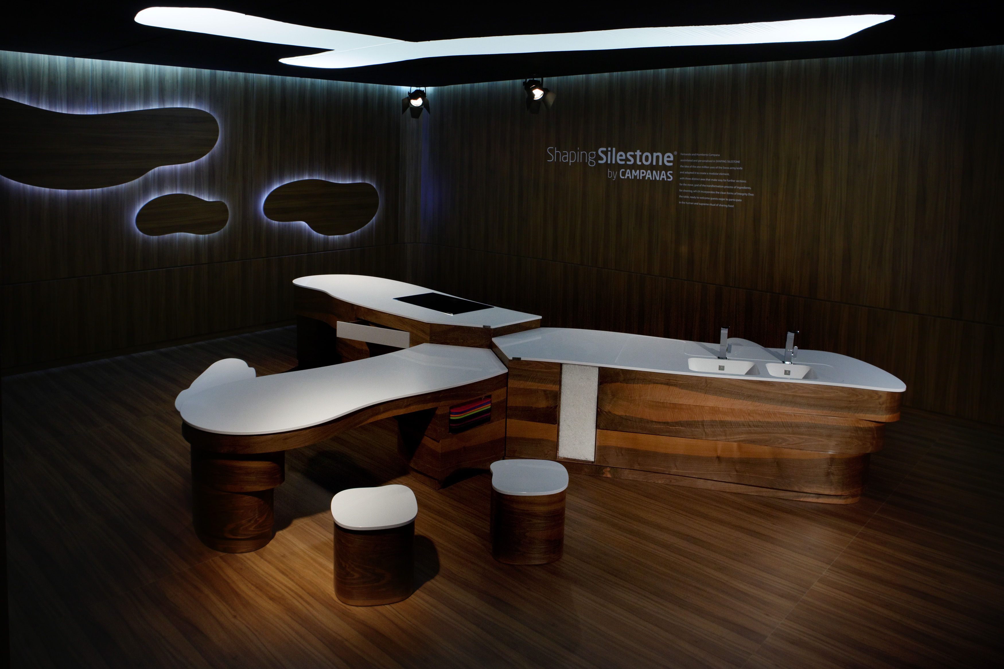 Introducing SHAPING SILESTONE® An Innovative Furniture Project By The  Campana Brothers For Cosentino Photo