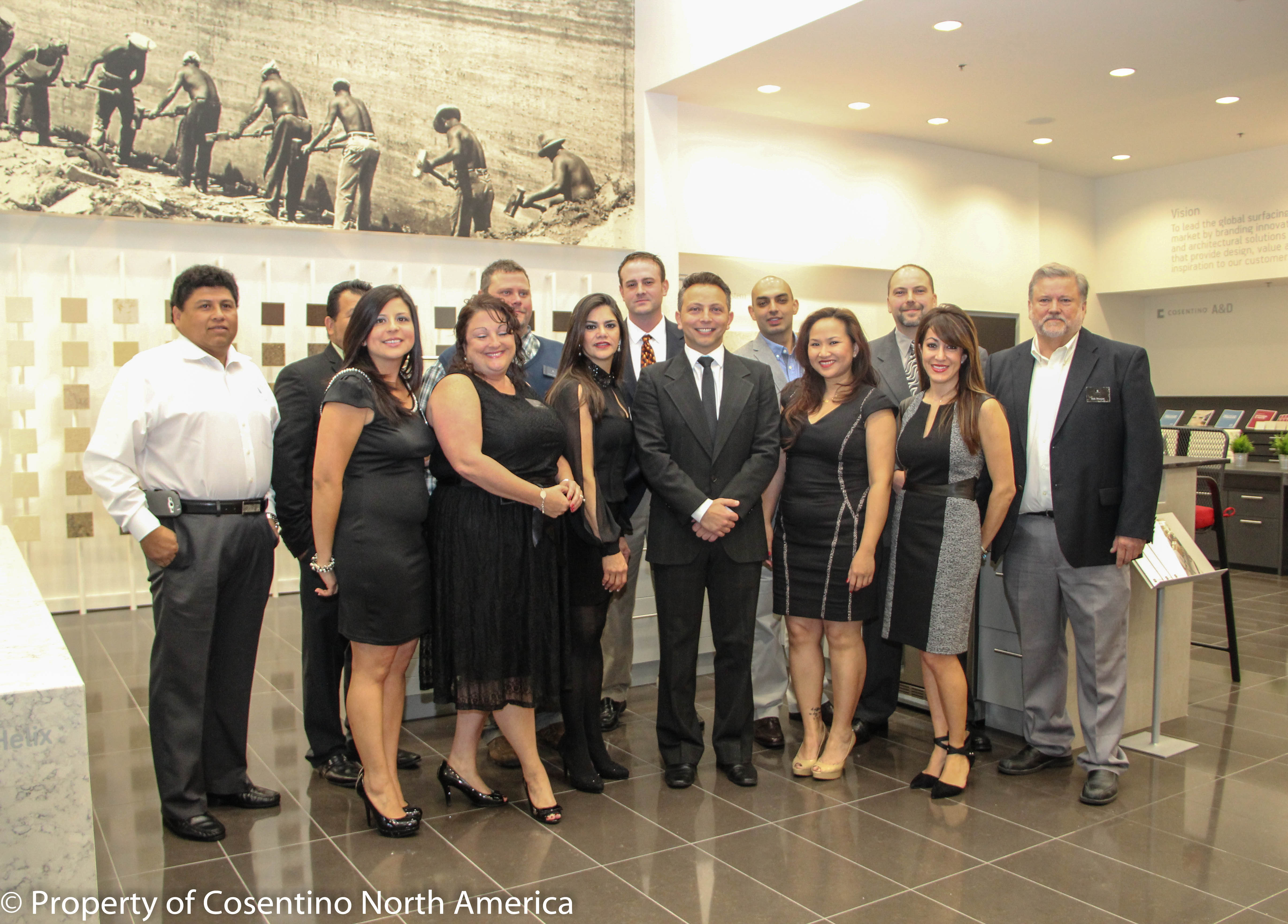 last thursday cosentino the global leader in natural stone quartz and recycled surfacing opened its th north american cosentino center in houston