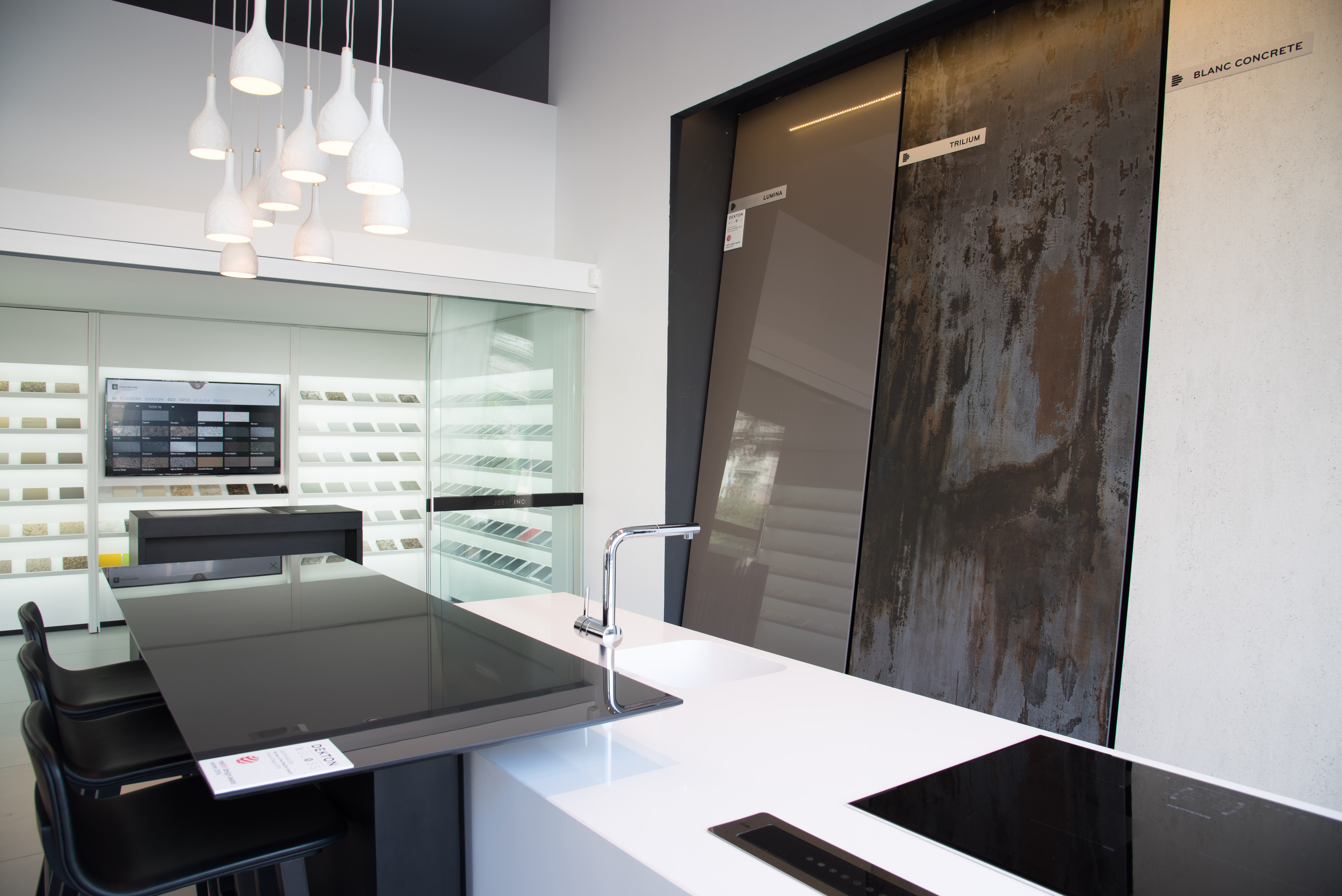 Cosentino group cosentino group present in milan design for Cuisine tech