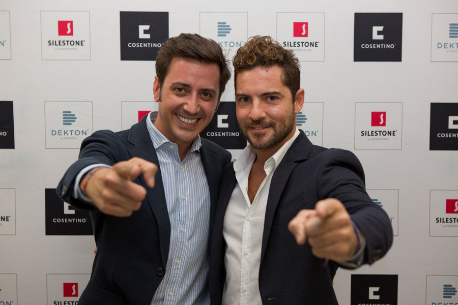 david bisbal the protagonist at an exclusive cosentino event in