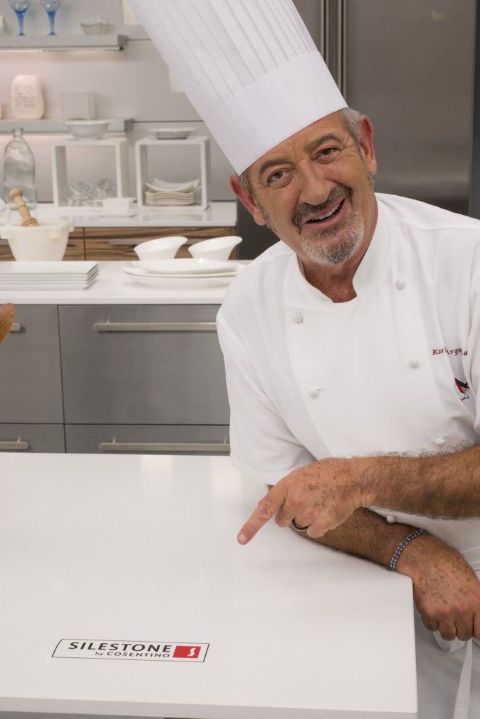 Cosentino group karlos argui ano continues to rely on for Cocina carlos arguinano